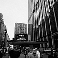 Outside Madison Square Garden New York City Winter Usa by Joe Fox