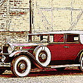 Packard Standard Eight Convertible by Lyriel Lyra