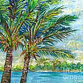 Palm Breezes by Lou Ann Bagnall