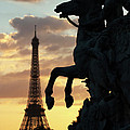 Paris Sunset by Carl Purcell