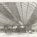 Passengers Await Their Train by  Illustrated London News Ltd/Mar