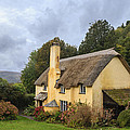 Picturesque Thatched Roof Cottage In Selworthy by Chris Smith