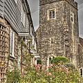 Plaxtol Church And Church Row by Dave Godden