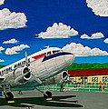 Portsmouth Ohio Airport And Lake Central Airlines by Frank Hunter