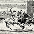 Prince Winning The Half-mile Pony Race For The Prince by Litz Collection
