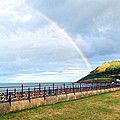 Rainbow Over Bray Head by Desmond Joseph  Reilly