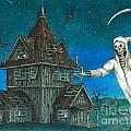 Reaper At Midnight by Melvin Rodela