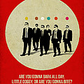 Reservoir Dogs Poster by Naxart Studio