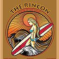 Rincon Ventura California Surfing by Larry Butterworth
