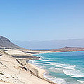 Road And Beaches Of Sao Vicente Cape Verde by Alexander Manykin
