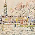 Rouen by Paul Signac