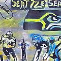 Seattle Seahawks Superbowl  by Tony B Conscious