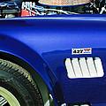 Shelby Cobra 427 Engine by Jill Reger
