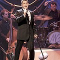 Singer Michael Buble by Concert Photos
