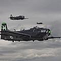 Skyraiders - Va155 by Pat Speirs