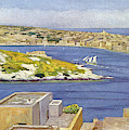 Sliema  A Suburb Of Valletta,  Popular by Mary Evans Picture Library