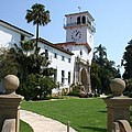 Santa Barbara Courthouse by Christiane Schulze Art And Photography