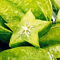 Star Fruit Carambola by Jeelan Clark