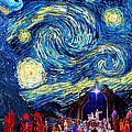 Starry Night In Bethlehem by Sylvia Thornton