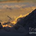 Sunset Peaks by Wildlife Fine Art