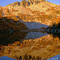 Switchback Peak On Cooney Lake by Tracy Knauer