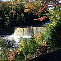 Tahquamenon Falls In Autumn by Linda Kerkau