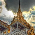 Temple Roof by Michelle Meenawong