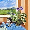 The Blue Jay Speaks by Susan Culver