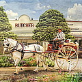 The Butchers Cart by Trudi Simmonds