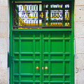 The Doors Of Madrid Spain Xii by Thomas Marchessault