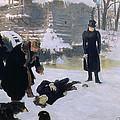 The Duel by Ilya Efimovich Repin