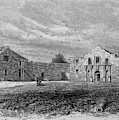 The Exterior Of The Alamo         Date by Mary Evans Picture Library