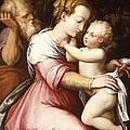 The Holy Family by Giorgio Vasari