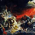 The Last Day Of Pompeii by Viktor Birkus
