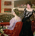 The Lyceum by Ramon Casas i Carbo