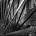 The Old Mill-black And White by Douglas Barnard