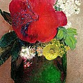 The Red Poppy by Odilon Redon