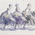 Three Kings Dancing A Jig by Joanna Logan