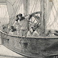 Training Naval Cadets On A  Swinging by  Illustrated London News Ltd/Mar