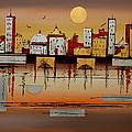 Urban Landscape by Miroslav Stojkovic - Miro