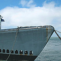 Uss Pampanito - Vintage Submarine by Connie Fox