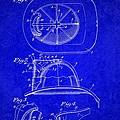 Vintage 1932 Firemans Helmet Patent by Doc Braham