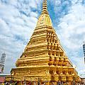 Wat Phra Kaeo Temple - Bangkok by Luciano Mortula