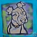 White Dog by Tony B Conscious