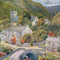 Yorkshire Scenery Muker In Swaledale by Mary Evans Picture Library