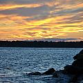 001 Awe In One Sunset Series At Erie Basin Marina by Michael Frank Jr