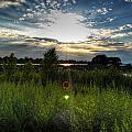 001 Setting Sun At Deyowenoguhdoh  by Michael Frank Jr