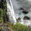 0010 Niagara Falls Misty Blue Series by Michael Frank Jr