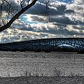 0013 Grand Island Bridge Series by Michael Frank Jr