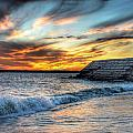 0016 Awe In One Sunset Series At Erie Basin Marina by Michael Frank Jr